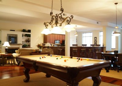 The Second Story Defiance Living Area Pool Table